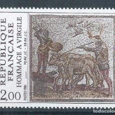 Sellos: R18/ FRANCIA NUEVOS ** MNH, Y&T 2174, 1981. Lote 94163695