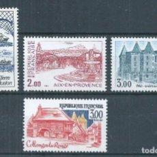 Sellos: R18/ FRANCIA NUEVOS ** MNH, Y&T 2193/96, 1982. Lote 94164170