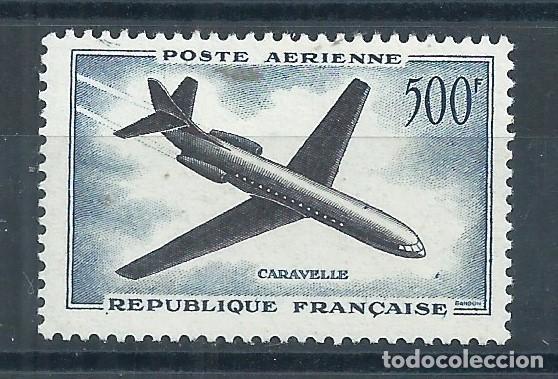 R18.G13/ FRANCIA NUEVOS * MH, Y&T A-36, 1957, CATALOGO 23€ (Sellos - Extranjero - Europa - Francia)