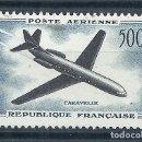 Sellos: R18.G13/ FRANCIA NUEVOS * MH, Y&T A-36, 1957, CATALOGO 23€. Lote 94994267