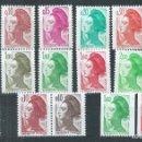 Sellos: R18/ FRANCIA NUEVOS ** MNH, Y&T 2178/92, 1982. Lote 95674367