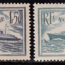 Sellos: FRANCIA 1934 YVERT Nº 299 / 300 MHN. Lote 96806531