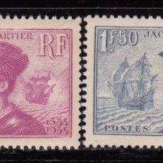 Sellos: FRANCIA 1934 YVERT Nº 296 / 297 MHN. Lote 96806559
