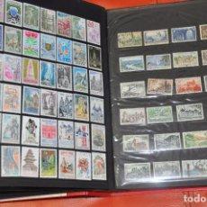 Sellos: ALBUM DE SELLOS DE FRANCIA , CON CIENTOS DE SELLOS . FRANCE STAMPS. Lote 100393499