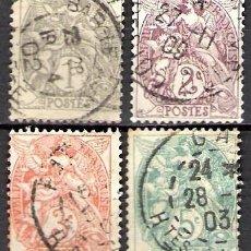 Sellos: FRANCIA 1900 - USADO. Lote 101735163