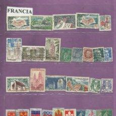 Sellos: COLECCIÓN DE SELLOS DE FRANCIA. Lote 103325095