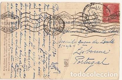 FRANCIA & POSTALE,RELICARIO DE SANTA TERESITA,OFERTA DE LA NACIÓN DE BRASIL,PARÍS, LISBOA 1930 (42) (Sellos - Extranjero - Europa - Francia)