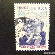 Sellos - FRANCIA FRANCE 2010 Abbé Pierre Yvert 4435 FU - 106045995