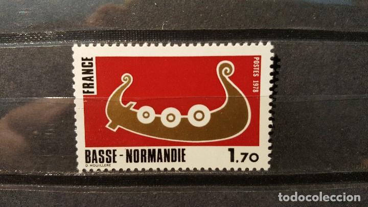 Sello Nuevo Francia 1978 Regiones De Francia Comprar Sellos