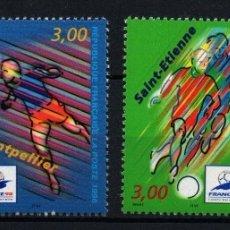 Sellos: FRANCIA 1996 - COPA MUNDIAL DE FUTBOL FRANCIA'98 YVERT 3010-13**. Lote 24237952
