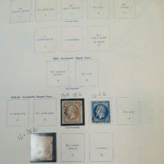 Sellos: COLECCION DE FRANCIA Nº 1 AL 2700 (FALTAN SELLOS) VALOR CATALOGO 4738 EUROS OFERTA 600 EUROS. Lote 113276199