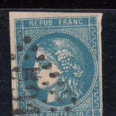 Selos: FRANCIA , YVERT Nº 46 B . Lote 114030091