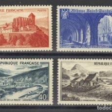 Sellos: FRANCIA 1949 IVERT 841A/43 *** PAISAJES Y MONUMENTOS. Lote 114819767