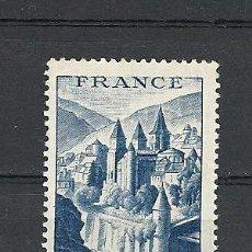 Sellos: FRANCIA 1948 IVERT 805 *** ABADÍA DE CONQUES - MONUMENTOS. Lote 115014163