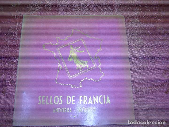 F1 COLECCION DE 75 SELLOS DE FRANCIA,ANDORRA Y MONACO.VER FOTOS ADICIONALES (Sellos - Extranjero - Europa - Francia)