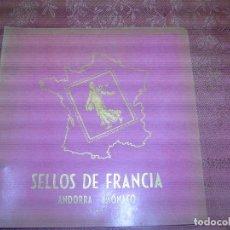 Sellos: F1 COLECCION DE 75 SELLOS DE FRANCIA,ANDORRA Y MONACO.VER FOTOS ADICIONALES. Lote 116099691