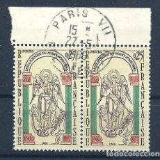 Sellos: YT 1482 FRANCIA 19666. Lote 118017235