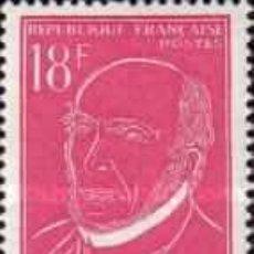 Sellos: FRANCIA - Nº 1092 - AÑO 1957 - VICTOR SCHOELCHER - NUEVOS. Lote 119029679