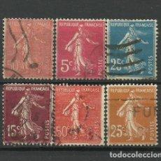 Sellos: FRANCIA SELLOS USADOS. Lote 126118699
