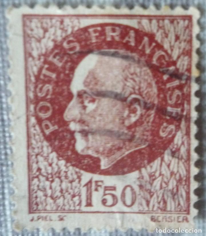SELLO FRANCES DE 1,50 FRANCOS (Sellos - Extranjero - Europa - Francia)