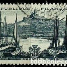 Sellos: FRANCIA 1955- YV 1037. Lote 131513834
