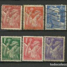 Francobolli: FRANCIA - SELLO USADO LOTE. Lote 132101506