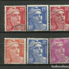 Francobolli: FRANCIA - SELLO USADO LOTE. Lote 132101578
