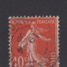 Sellos: 1907 SELLO ROJO TIPO II FRANCIA YT 138 (º). Lote 132943114