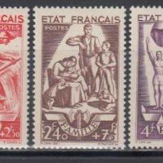 Sellos: FRANCIA, YVERT Nº 576 / 580 /**/ . Lote 133301650