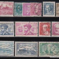 Sellos: FRANCIA, 1933 - 1935 LOTE DE SELLOS USADOS. Lote 133307886