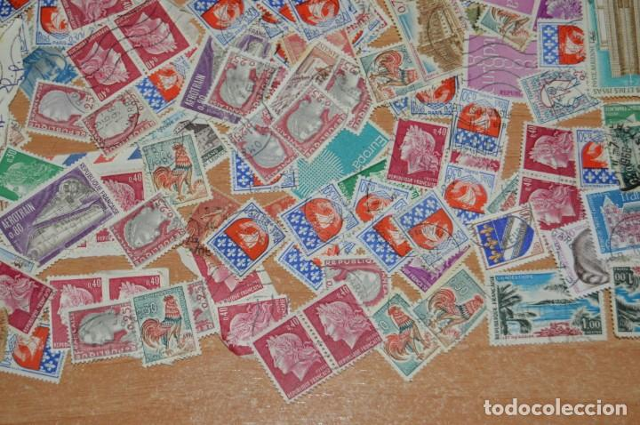 Sellos: LOTE ENORME DE CIENTOS DE SELLOS VARIADOS SIN TASAR - DE FRANCIA - DE MUCHAS ÉPOCAS - ENVÍO 24H - Foto 9 - 133416802