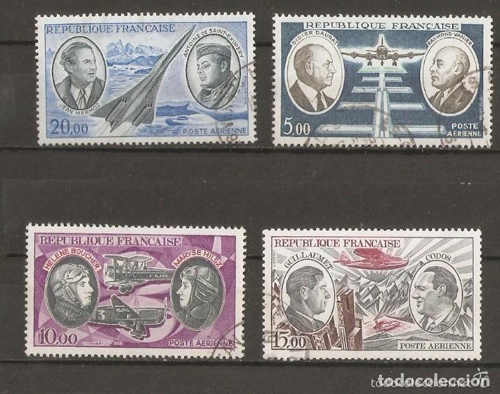 FRANCIA.1970-73. AÉREO YV.Nº 44,46,47,48 (Sellos - Extranjero - Europa - Francia)