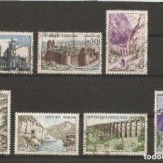 Sellos: FRANCIA. 1960. YV N º 1235/1241. Lote 139637506