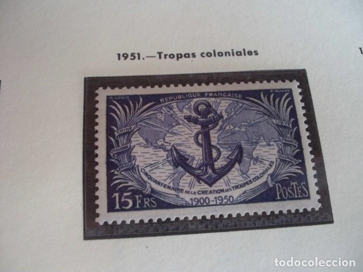 FRANCIA 1951. TROPAS COLONIALES (Sellos - Extranjero - Europa - Francia)