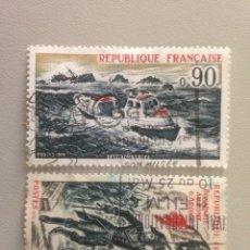 Sellos: LOTE DE SELLOS REPUBLIQUE FRANCAISE. Lote 140036777