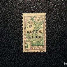 Sellos: ININI/COLONIA FRANCESA-1939-3C. Y&T 36*(MH). Lote 140954142