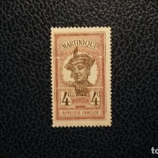 Sellos: MARTINICA/COLONIA FRANCESA-1908-4C. Y&T 63*(MH). Lote 140954358