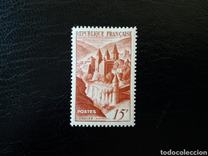 FRANCIA. YVERT 792. SERIE COMPLETA NUEVA SIN CHARNELA. ABADÍA DE CONQUES. 1947. (Sellos - Extranjero - Europa - Francia)