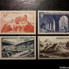 Sellos: FRANCIA. YVERT 841A/43. SERIE COMPLETA NUEVA SIN CHARNELA. 1949. PAISAJES Y MONUMENTOS.. Lote 143209214