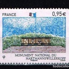 Sellos: SELLO FRANCIA - MONUMENT NATIONAL DU HARTMANNSWILLERKOPF. Lote 143612894