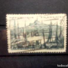 Sellos: FRANCIA, 1955, MARSELLA, PUERTO VIEJO YT 1037. Lote 143645462