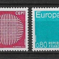 Sellos: FRANCIA 1970 SC# 1271-1272 ** MNH - 1/33. Lote 143750202