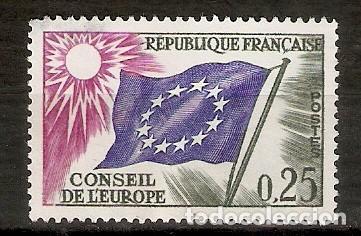 FRANCIA. 1963. YT 28. CONSELL DE L´ EUROPE (Sellos - Extranjero - Europa - Francia)