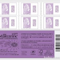 Sellos: FRANCE 2019 - MARIANNE 2018 INTERNATIONAL - STAMP BOOKLET MNH. Lote 195309363