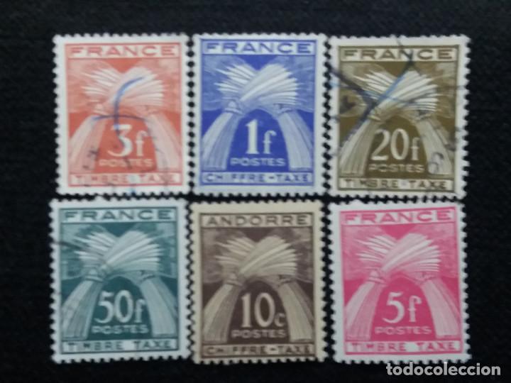 6 SELLOS POSTE REPUBLICA FRANCESA, FR..1960, NUEVO (Sellos - Extranjero - Europa - Francia)