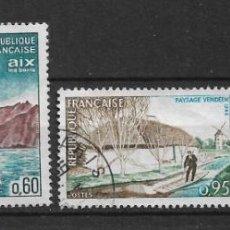 Sellos: FRANCIA 1965 MICHEL 1516/1519 USADO - 8/20. Lote 146938206
