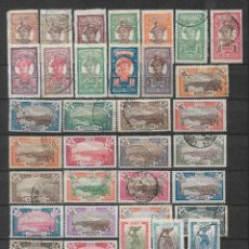 Sellos: MARTINIQUE 1908-30 SC 62-98 MH Y USED - 10/19. Lote 147233786