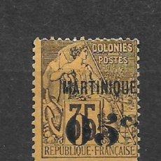 Sellos: FRANCIA MARTINIQUE SELLO * MH - 6/3. Lote 147758574