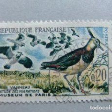 Sellos: FRANCIA 1960 OISEAUX YVERT 1273 FU. Lote 148247738