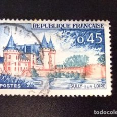 Sellos: FRANCIA 1961 - 62 SULLY SUR LOIRE YVERT 1313 FU. Lote 148327134